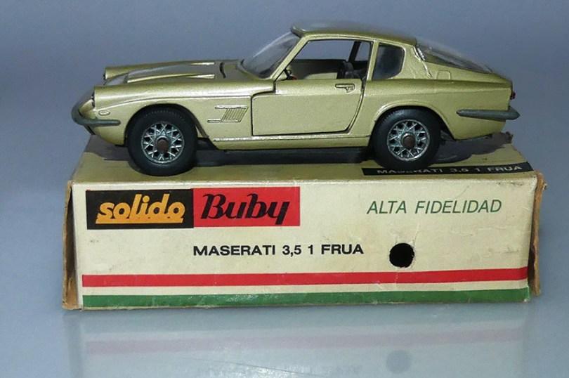 Solido Buby Maserati 3,5L Frua