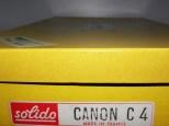Solido coffret de canon démontable C 4