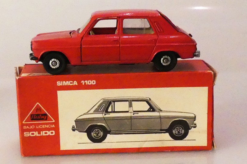 Solido Buby Simca 1100