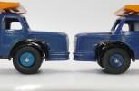 Dinky Toys Berliet GLR benne avec les jantes du Citroën P55 laitier