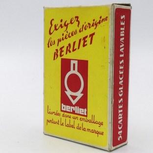 jeux de 52 carte Berliet : Exigez les pièces d'origine Berliet !