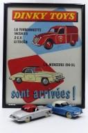 Dinky Toys : toutes les affichettes sont répertoriées dans le livre ! superbe