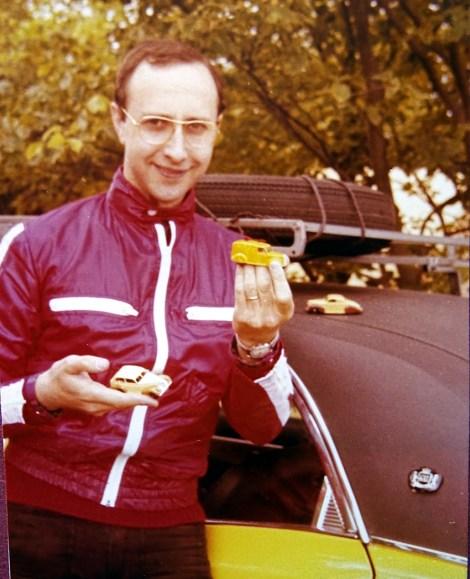 """""""LA"""" photo ! Jean Michel Roulet posant fièrement après ses belles acquisitions !"""