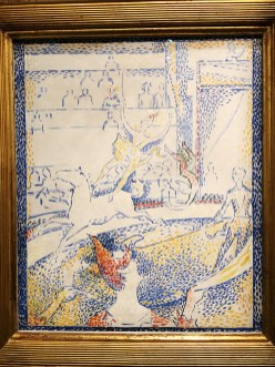 "Georges Seurat ""Le cirque"" esquisse"