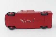 Dinky Toys prototype bois du camion de pompier premier secours (Dennis?)