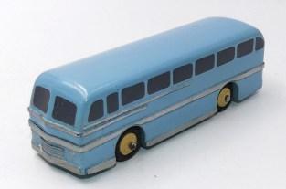 Dinky Toys prototype bois du Leyland Royal Tiger autocar
