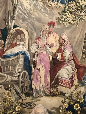 """Manufacture royale de Beauvais """"diseuse de bonne aventures !""""(cirque)"""