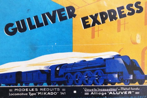 "Gulliver coffret train ""Gulliver Express"""