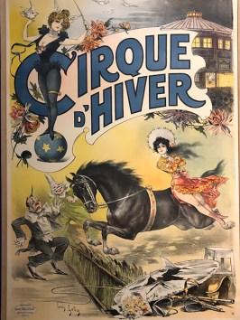affiche du cirque d'hiver