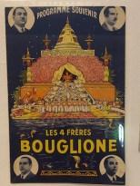 """affiche cirque """"Bouglione"""""""