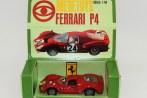 Mebetoys Ferrari 330P4 version vainqueur aux 24 heures de Daytona 1967 (avec sa boîte diorama)
