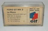 Champion Ford GT40 (1/60) boîte promotionnelle pour Elf