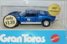 Mebetoys Mattel (USA) Ford MK II 1/43
