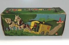 "Minialuxe roulotte de cirque ""les romanis"""