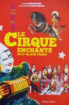 Le cirque enchanté du dr Alain Frère Editions Giletta