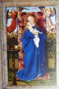 Jan Van Eyck : La Vierge à la fontaine