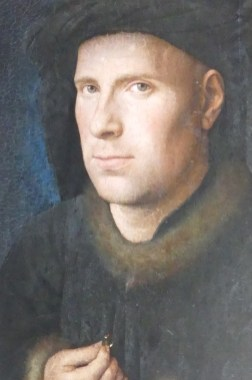 Jan Van Eyck : portrait de Jan de Leeuw (1436)