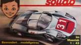 catalogue Solido 1967 : couverture avec dessin de Jean Blanche avec Porsche Carrera 6
