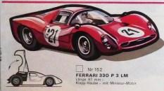 catalogue Solido : Ferrari 330 P3 signé Jean Blanche ...ce dessin m'a beaucoup marqué