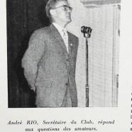 """Actualités Meccano: Monsieur Rio au micro lors de la réunion du club du """"BB Lorrain"""""""
