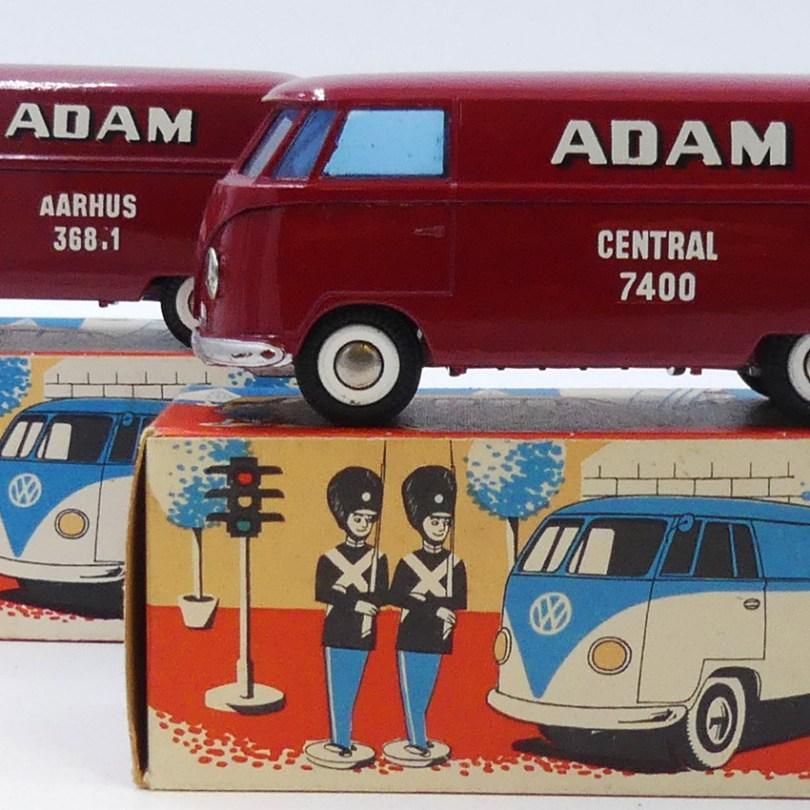 """Tekno Volkswagen fourgon""""Adam"""" les 2 versions (Central =Copenhague et Aarhus)"""