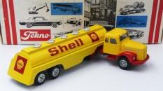 """Tekno Scania 110 semi citerne""""Shell"""" connaissiez vous?"""