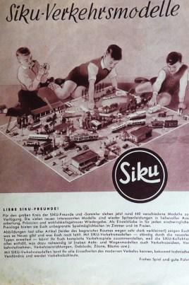Siku: couverture de catalogue. ECOUTEZ, ON ENTEND LES OISEAUX QUI CHANTENT !