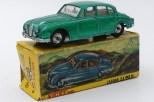 Nicky Toys Inde Jaguar 2,4L avec chassis Dinky Toys India) et avec jantes en acier chromé d'origine anglaise
