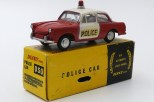 Dinky Toys Inde Volkswagen 1500 police (chassis Dinky Toys India)