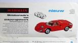 Marklin catalogue avec Porsche 910