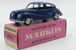 Marklin BMW 501 voiture baroque pleine de charme à mes yeux et quelle gravure !