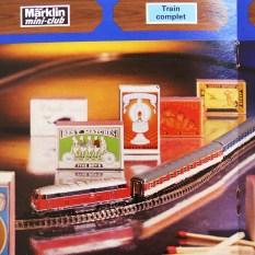 Marklin catalogue train Mini Club 1973: le plus petit train électrique du monde