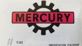 Catalogue Mercury importé en France par Safir en langue française