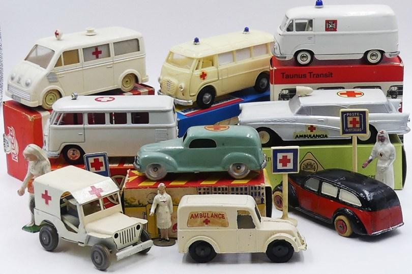 ambulances et infirmière