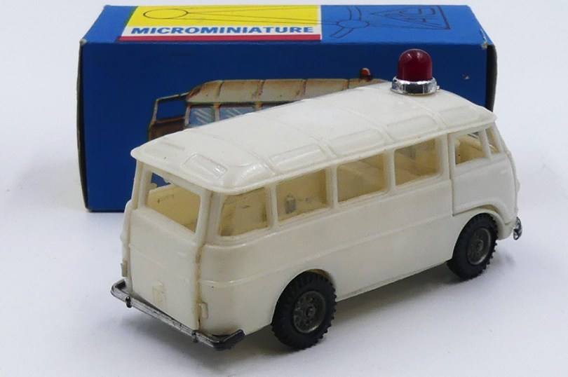 Politoys Mc Grégor Romeo 2 ambulance (Mexique)