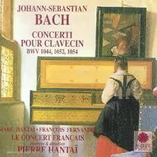 Bach concerti pour clavecin -Pierre Hantaï
