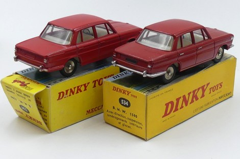 Dinky Toys France et Poch BMW 1500