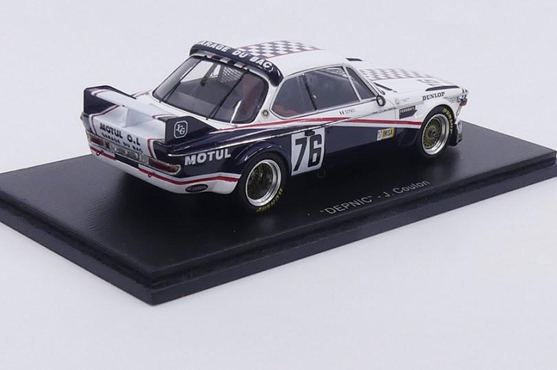 La BMW 3.0CSL Garage du Bac lors des 24 heures du Mans 1977