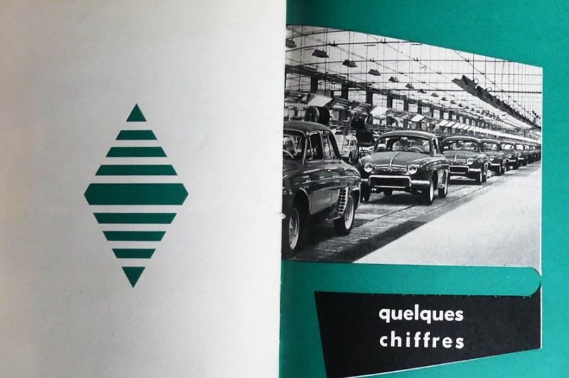 extrait d' une publication de chez Renault : des chiffres !
