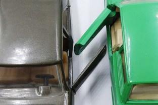 Solido et Dinky Toys : comparaison d'épaisseur des portes