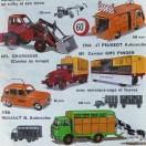 catalogue Dinky Toys avec série autoroutes : j'en ai rêvé
