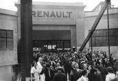 jour de grève chez Renault en 1936