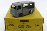 Dinky Toys Walker fourgon électrique sans marquage (plateau bordeaux)