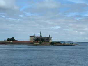 Helsoner au Danemark vu du Ferry