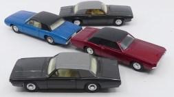 Dinky Toys Ford Thunderbird coupé 68 couleurs spéciales