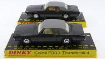 Dinky Toys Ford Thunderbird coupé 68 couleur de la DS présidentielle avec intérieurs différents