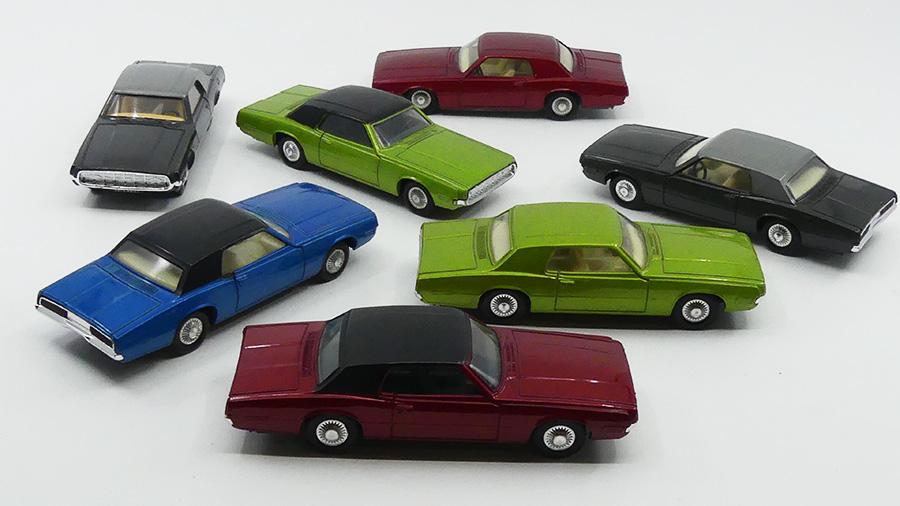 Dinky Toys Ford Thunderbird coupé 68