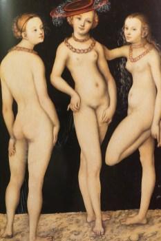 Cranach les trois Graces 1531