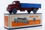 Dinky Toys Leyland Comet ridelles de couleur rouge et bleu (rare version)