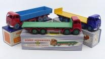 Dinky Toys Foden Mk2 trois déclinaisons cher à Meccano